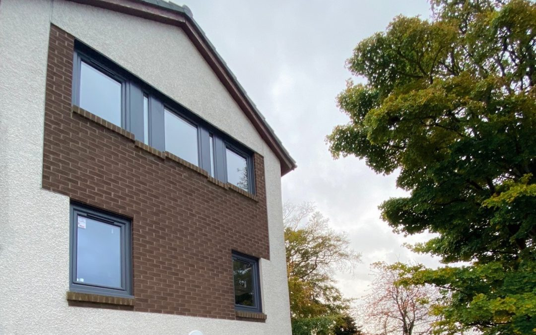BOOSTING KERB APPEAL WITH NEW WINDOWS